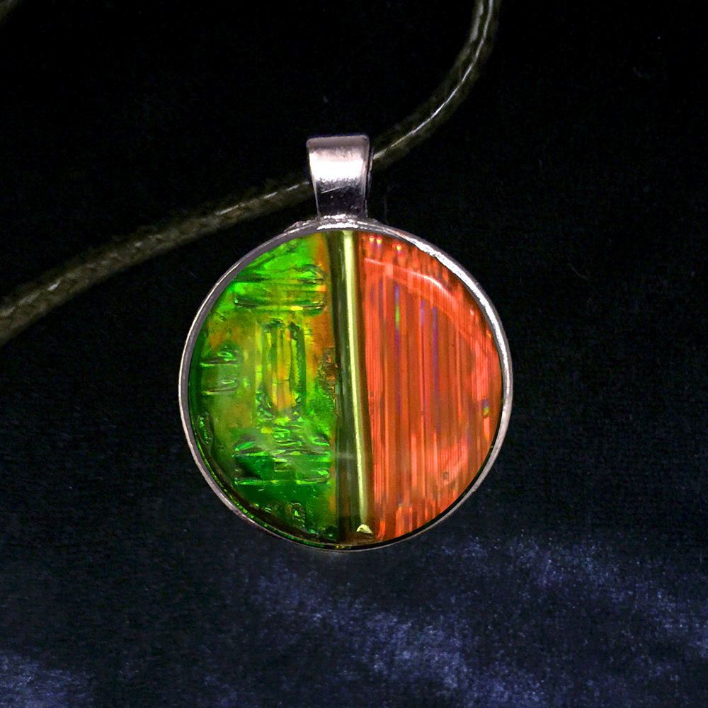 Sun-Kissed Glow Sun Catcher Pendant by Tara Riley
